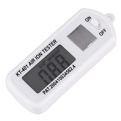 Medidor probador de iones de aire, prueba de iones negativos, uso cualitativo en interiores y exteriores para probar valores Purificadores de aire de iones negativos Generador de iones