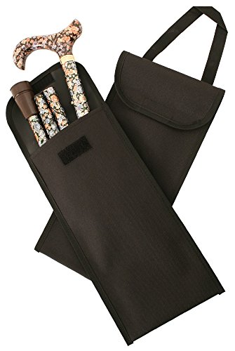 Case for Folding Canes in Black