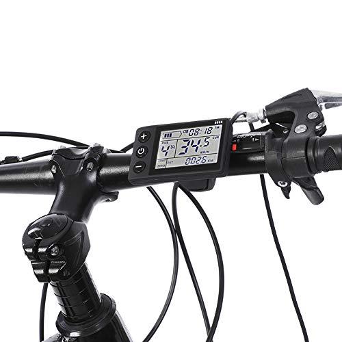 Ebike Controller 36v 250w 350w, Wasserdichtes LCD Display Motor Brushless Controller Kit, Motor Brushless Controller E-Bike Für Bürstenlose Elektrofahrräder (24v/36v 350w)