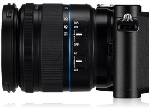 Samsung NX200 Systemkamera (20,3 Megapixel, 7,6 cm (3 Zoll) Display, i-Funktion) inkl. 18-55mm NX Objektiv