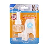 Arm & Hammer for Pets Air Care Pet Scents Electric Oil Diffuser Plug-in & Refill in Fresh Breeze Scent | Plug in Air Freshener Pet Odor Eliminator Combats Pet Odors for up to 30 Days of Freshness