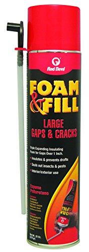Red Devil 0912 Foam & Fill Large Gaps & Cracks Expanding Polyurethane...