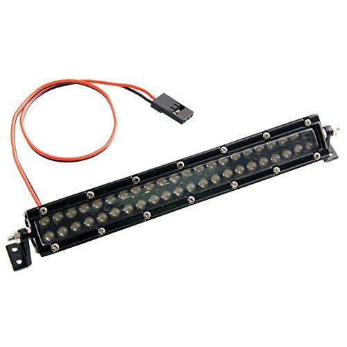 KEEDA 1/10 serie C alto rendimiento 44 LED Super brillante barra de luz lámpara de techo de metal para 1/10 RC Crawler coche camión AXIAL SCX10 Tamiya CC01 RC4WD D90