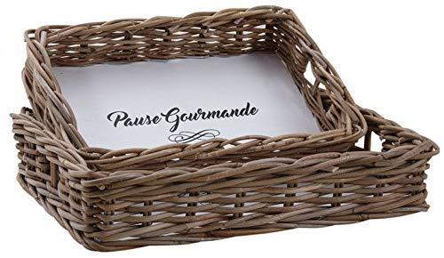 Plateaux Pause Gourmande en poelet (Lot de 2)