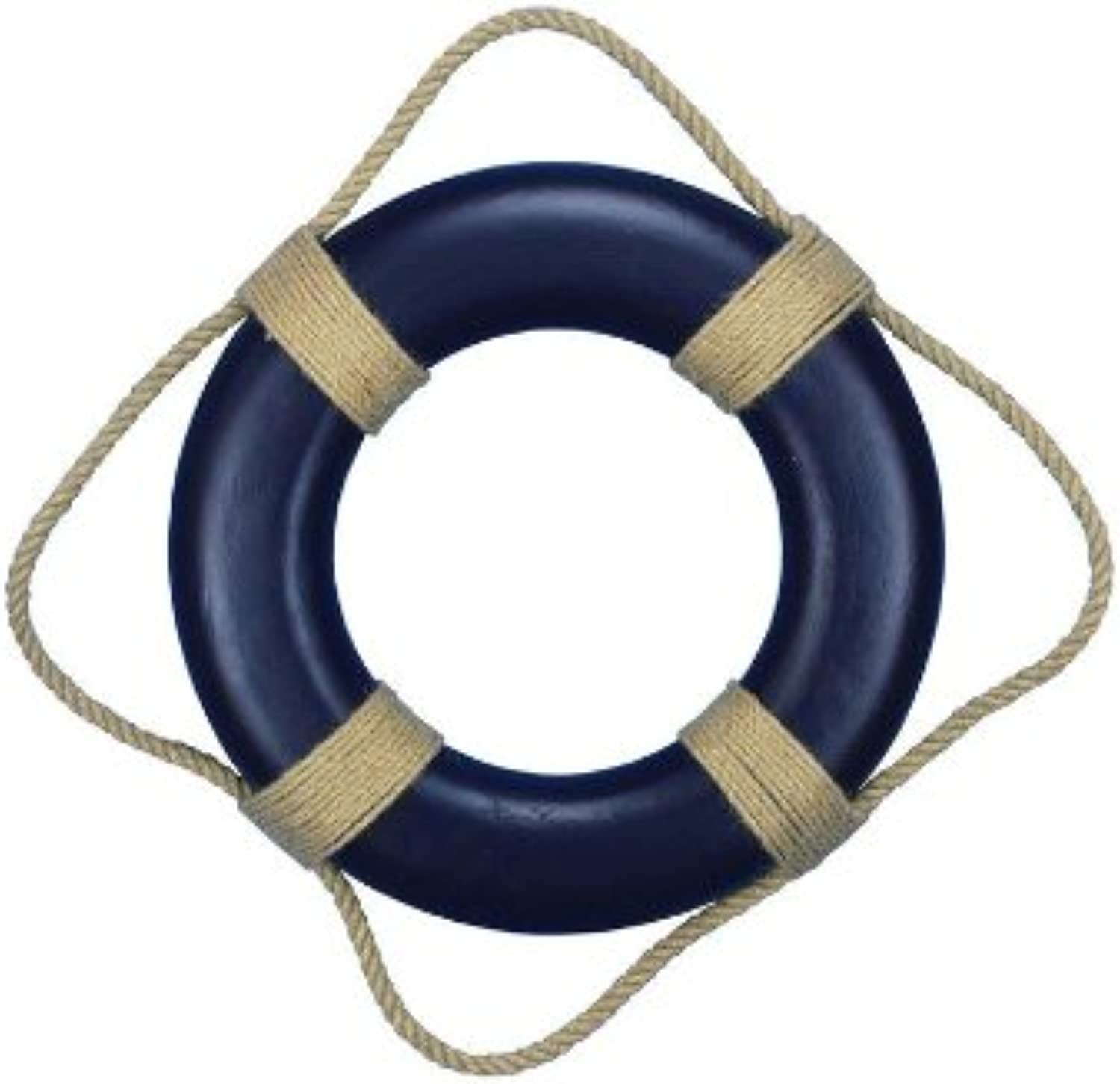 Hampton Nautical Decorative bluee Lifering, 15