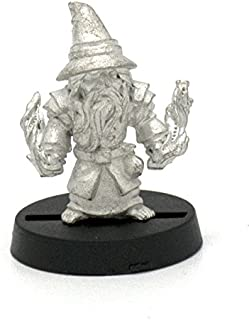 Stonehaven Halfling Wizard Miniature Figure (for 28mm Scale Table Top War Games) - Made in USA