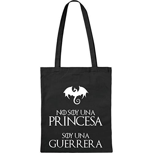 Bolsa de Tela No Soy una Princesa – Tote Bag - Bolsa de Te