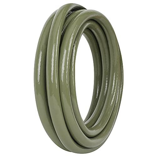 JonesHouseDeco PVC Manguera para Jardin 5m 1/2'' (13mm) Ducha Manguera Riego Flexible de Agua