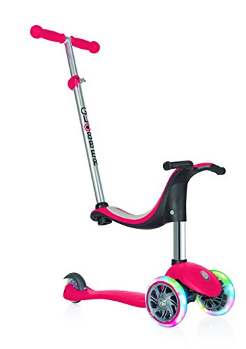 Globber EVO 4-in-1 with Light Up Wheels Patinete go up 4 in