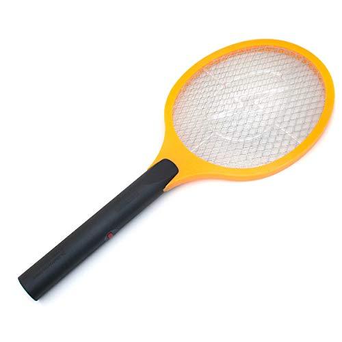GOODS+GADGETS Elektrische Fliegenklatsche Elektro Fliegenfänger Elektro Insektenvernichter Mückenklatsche (Einzeln: 1 Stück)