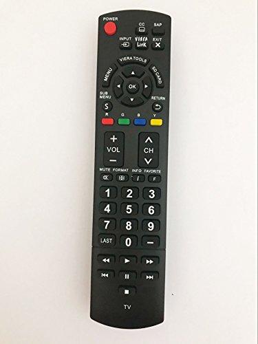 Replacement Remote Controller for Panasonic TVs TC-P42C2 TH-32LRU30...