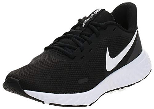 Nike Revolution 5 U Scarpe da Corsa, Uomo, Nero/Antracite (Black/Anthracite 001), 42 EU