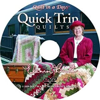 Quick Trip Quilts DVD with Eleanor Burns