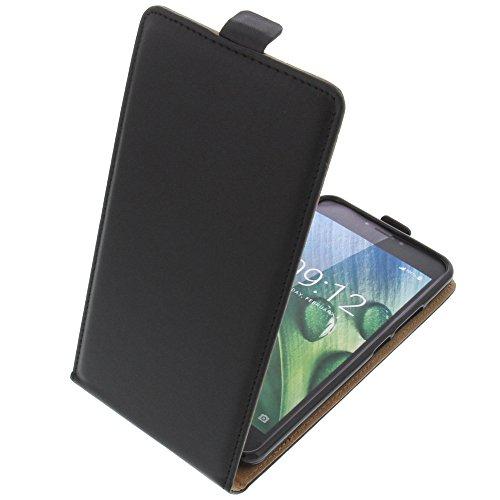 foto-kontor Tasche für Acer Liquid Z6 Plus Smartphone Flipstyle Schutz Hülle schwarz