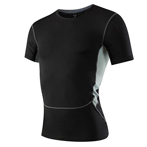 Uglyfrog Nuevo Deportes y Aire Libre Hombre Ciclismo Medias Ropa Deportiva Running Camisetas Short Sleeve M1033