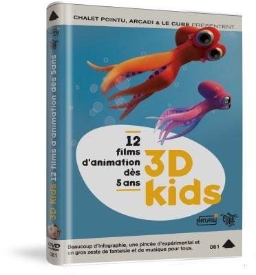 3D Kids - 12 Films Animated Collection ( Oktapodi / The Great Escape / Al Dente / Bois / Frigo / Herbstlaub / Kudan / Jeu d'enfants / PG1 - [ Origine Français , Sans Langue Francaise ]
