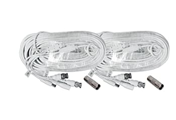 2  100 Foot Security Camera Cable for Samsung SDS-P5122 SDS-P5102