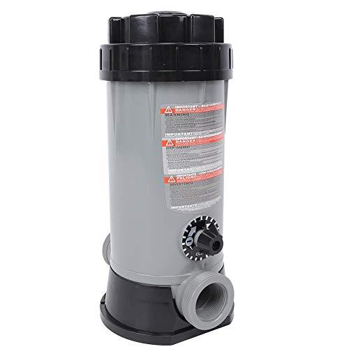 Boquite Diseño de Sellado automático Clorador automático para Piscinas Alimentador automático de Cloro, Estanque CL-200 para Equipos de desinfección de Piscinas Equipo de Escape Especi