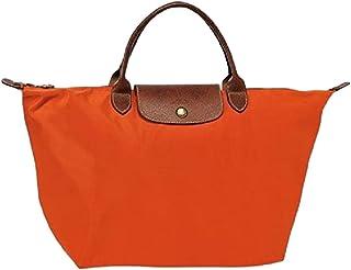 LONGCHAMP Original Le Pliage Medium Top Handle Tote Bag, Paprika