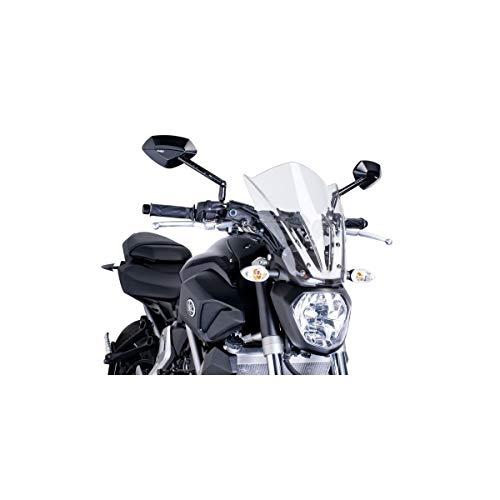 Preisvergleich Produktbild Puig 7016W Windschutzscheibe Cockpitverkleidung für Yamaha MT-07 2014,  Transparent,  Medium