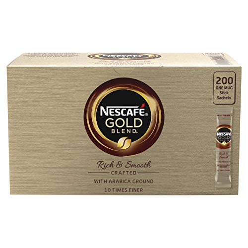 Nescaf? Gold Blend Instant Coffee 200 Sachets X 1.8G