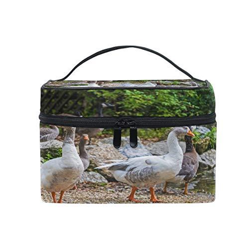 Animal Goose Trousse de toilette de voyage en toile