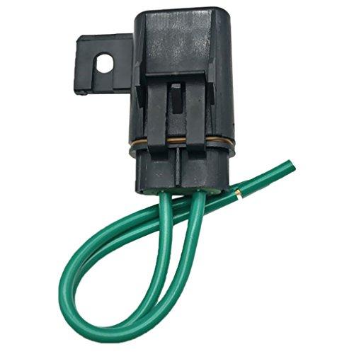 IPOTCH 1 Juego de Caja de Portafusibles en Línea Impermeable para Camión de Coche + Fusible de Hoja Mediana de 40 Amperios