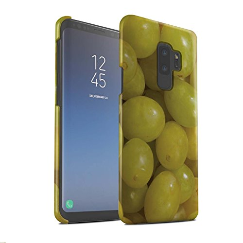 Stuff4® Phone Case/Cover/Skin/SG-3DSWM/Juicy Fruit Collection Samsung Galaxy S9 Plus/G965 Druiven