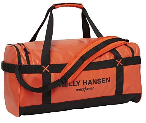 Bolsa Helly Hansen 79572_299-STD DUFFEL BAG 50L Naranja/Negro
