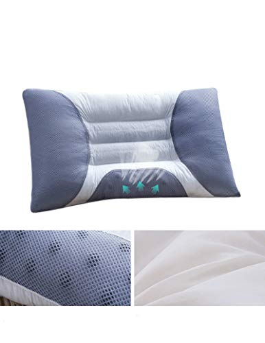 Yywl - Cojín de almohada de Cassia para la salud cervical, de algodón, para reparar el cuello, magnética, tamaño único, 45 x 70 cm