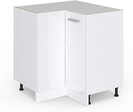 Elegant Vicco Küchenschrank Hängeschrank Unterschrank Küchenschränke  Küchenunterschrank Arbeitsplatte, Möbel Verfügbar In Anthrazit Und Weiß  (weiß
