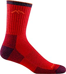 DARN TOUGH (STYLE #1466) Men's Merino Wool Hiker Micro Crew Cushion Socks