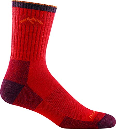 DARN TOUGH (STYLE #1466) Men's Merino Wool Hiker Micro Crew Cushion Socks