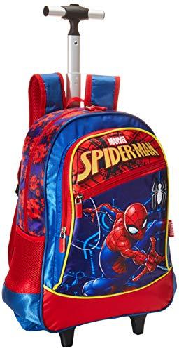 Mochila Con Ruedas Lonchera Primaria Ruz Marvel Spider-Man