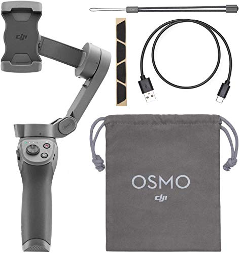 DJI Osmo Mobile 3 Handheld Smartphone Foldable Camera Gimbal Stabilizer - CP.OS.00000022.01