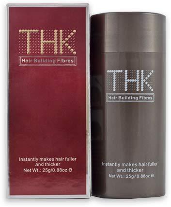 Thk de construction de cheveux Fibres Marron foncé 25 g instantanément rend Cheveux meilleure et plus épais