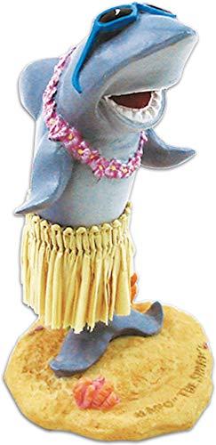 KC Hawaii Mini Shark with Sunglasses Mini Dashboard Doll 3.75 inches