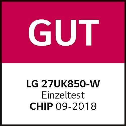 LG 27UK850-W 68,58 cm (27 Zoll) UHD 4K IPS Monitor (AMD Radeon FreeSync, HDR10, 99%sRGB), weiß - 14