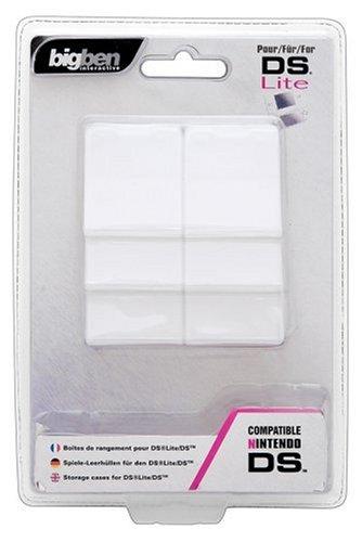 Pack de 6 boîtes de rangement/transport Pour Jeux DS