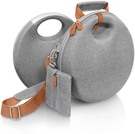 CaseSack Carrying Case for Harman Kardon Onyx Studio 5, Onyx Studio 6 Bluetooth Wireless Speaker (Tweed Gray)