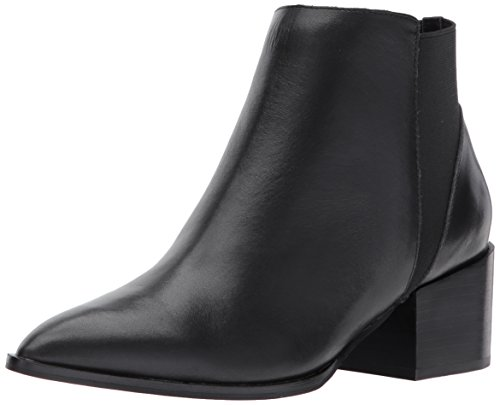Chinese Laundry womens Finn Ankle Bootie, Black Leather, 6.5 US