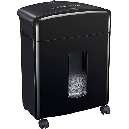 Best Buy! Bonsaii 12-Sheet Cross-Cut Paper, CD/DVD, and Credit Card Shredder with 3.5-gallons Pullou...