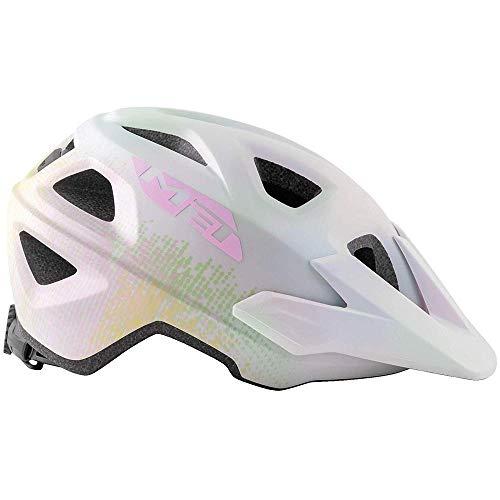 Met Casco ELDAR M(52-57) Ciclismo, Adultos Unisex, Blanco (Blanco)