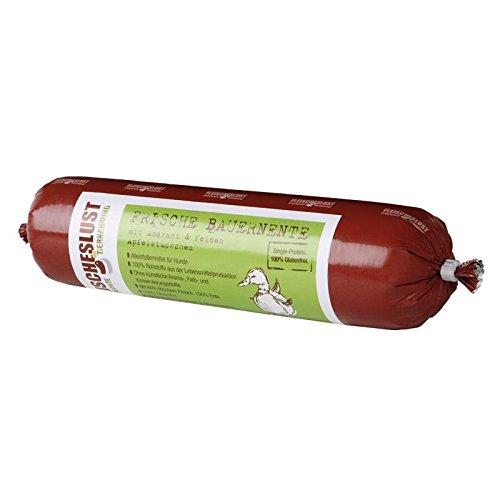 Fleischeslust Singleprotein Bauernernte Apfel | 800g Hundef.