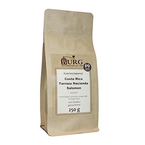 BURG Costa Rica Tarrazu Hacienda Salomon Kaffee Gewicht 500 g, Mahlgrad mittel gemahlen