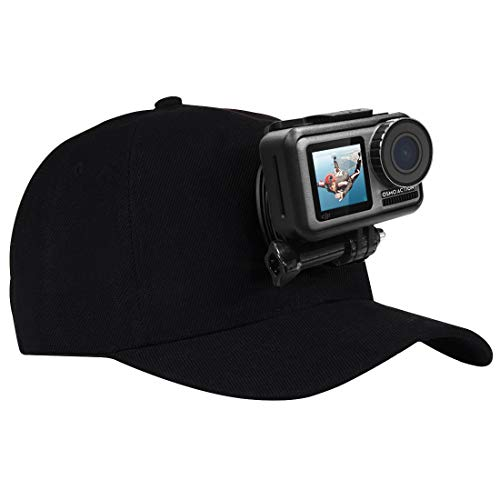 RENYL Renyl-Kamera-Baseball-Mütze mit J-Haken-Schnallenhalterung und Schraube for...