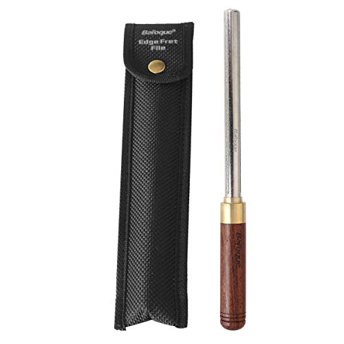 3 in 1 Guitar Fret Crowning Dressing File with Wood Handle Narrow/Medium/Wide 3 Edges Guitar Repairing Fret File Luthier Tool