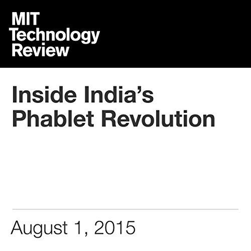 Inside India's Phablet Revolution audiobook cover art