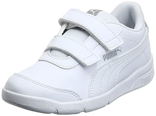 PUMA Stepfleex 2 SL VE V PS, Zapatillas Unisex-Niños, Blanco (White/White), 29 EU