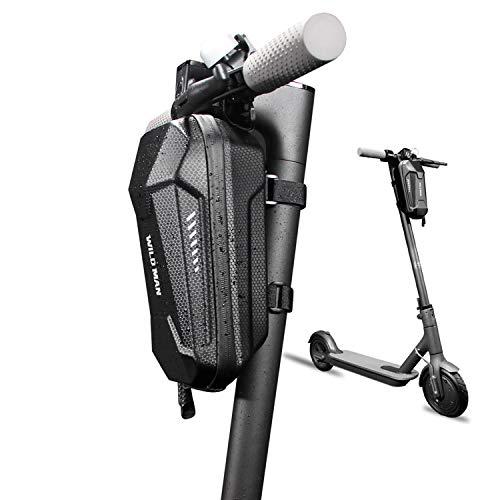 WILD MAN Scooter Tasche Scooter Lenkertasche Elektroroller Tasche Rollertasche Vordere Tasche Scooter-Tasche Wasserdicht Groß für ElektrischerRoller Faltrad